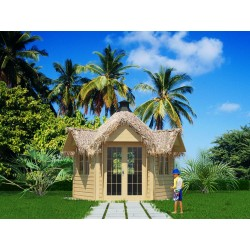 Bungalow Tropical Island 9,2 m² 99 sq.ft.